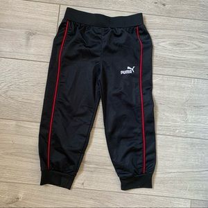 Puma little guy joggers pants ball with red stripe